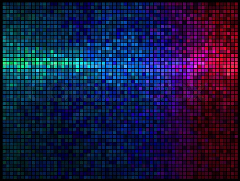 Multicolor abstract lights disco background square pixel for 1234 get on the dance floor hd video download
