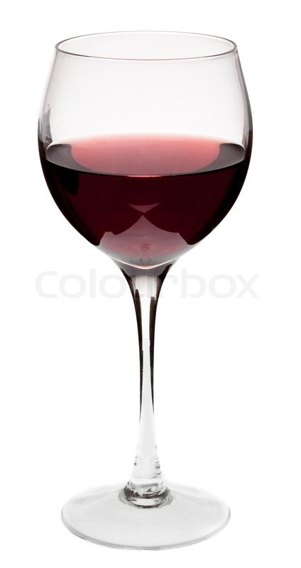 glass of red wine on a white background and with soft shadow stock photo colourbox. Black Bedroom Furniture Sets. Home Design Ideas