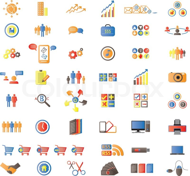 ... vector of 'Web Icons, Internet & Website icons, signs and symbols