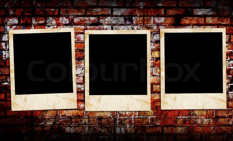 Blank Photo Frames Stock Photo Colourbox