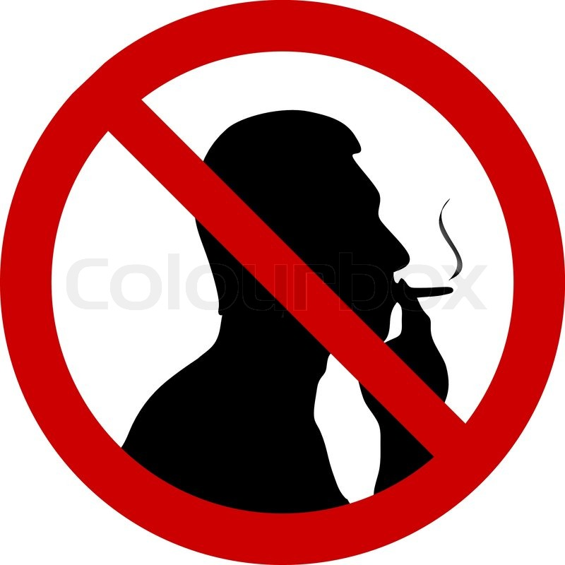 vector illustration of no smoking sign stock vector colourbox rh colourbox com no smoking vector symbol no smoking vector sign