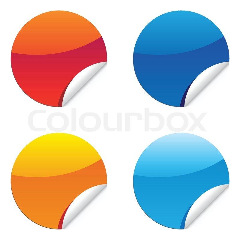glossy label sticker for sale price tags stock vector colourbox rh colourbox com price tag vector free download price tag vector icon