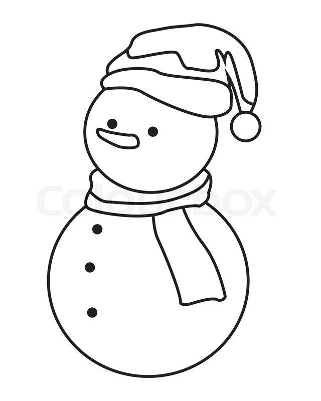 Snowmen At Night Coloring Page, HD Png Download - vhv