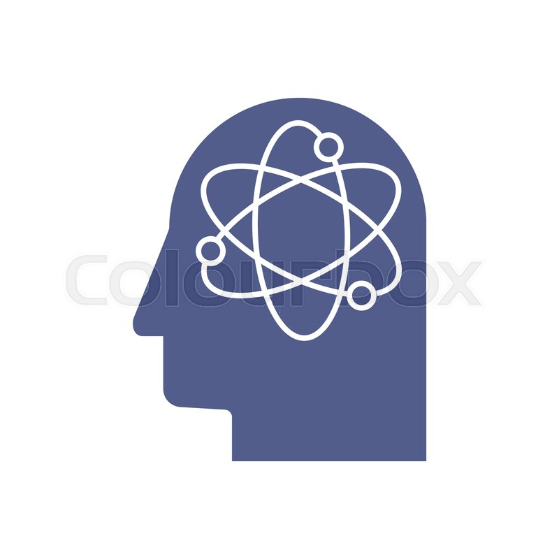 Artificial Intelligence Icon Ai Head Stock Vector Colourbox