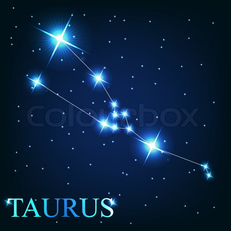 Taurus Star Sign Vector Of The Zodiac