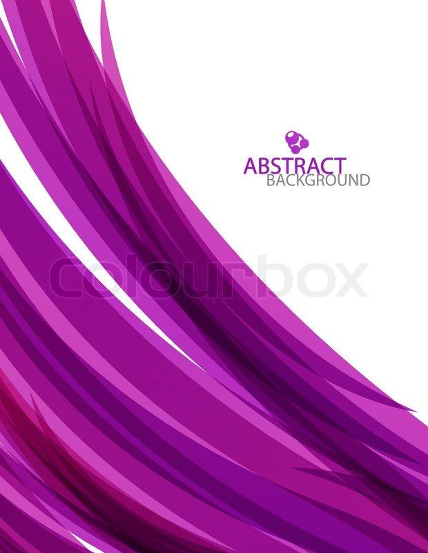 Purple Wave Template