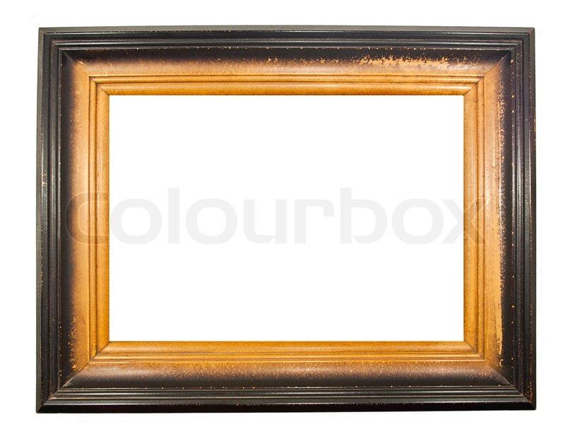 Tne old wood frame   Stock Photo   Colourbox