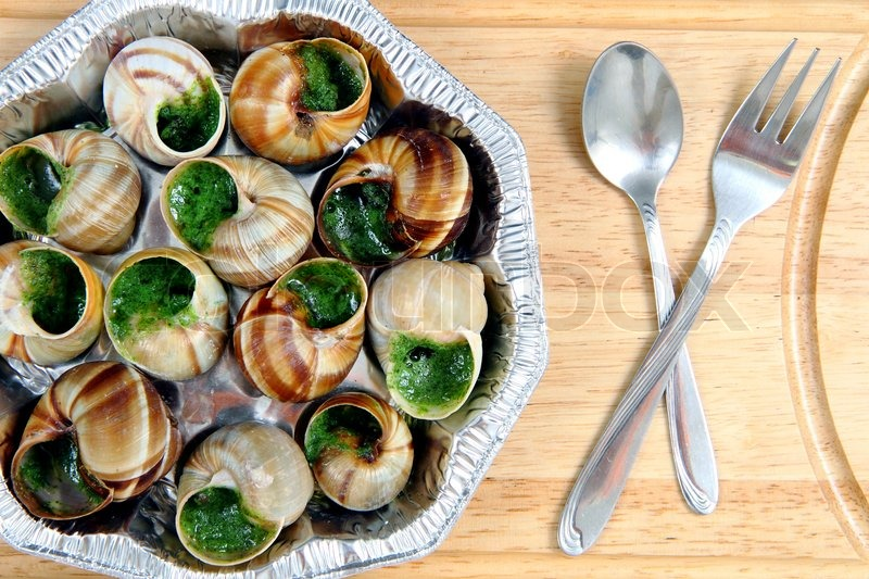 Snails As French Gourmet Food Stock Photo Colourbox