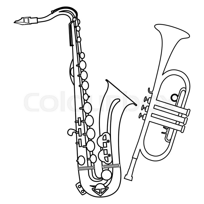 Jazz Band Insterments