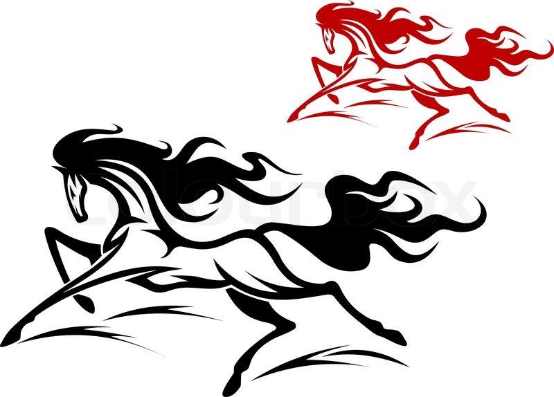 Running Horse Tattoo Design Running Horse Tattoo