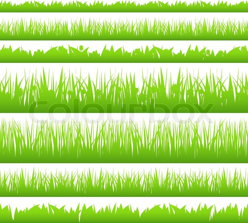 photograph relating to Printable Grass identify Seamless Gr Inventory vector Colourbox