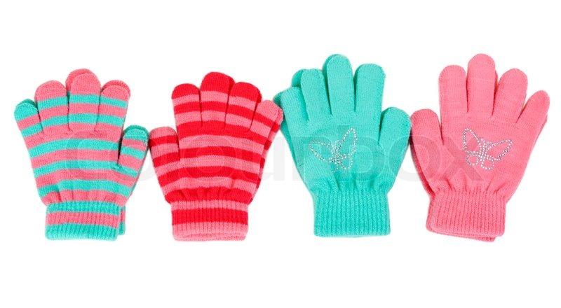 d700a6d3c Striped baby gloves