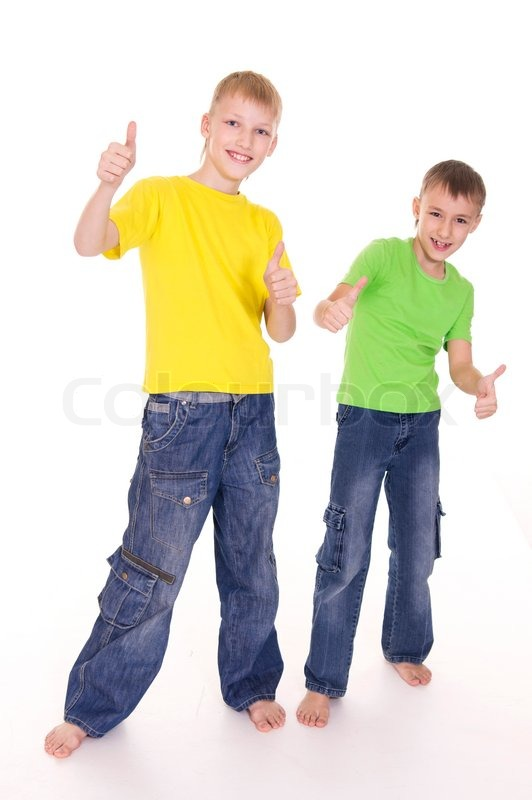 Images Of Boys Painted Bedrooms: Two Boys Standing