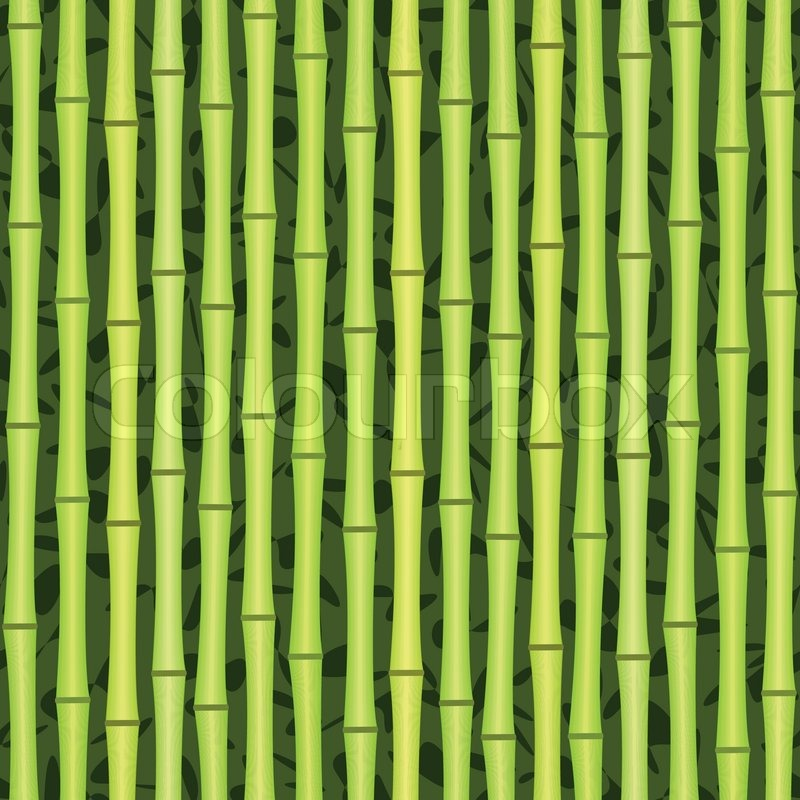 Фотообои  Зеленый бамбук  артикул 10004450