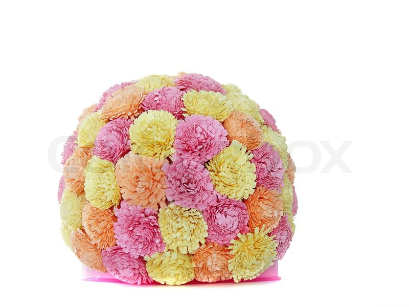 Quilling Paper Flowers Paper Flower Ball Quilling