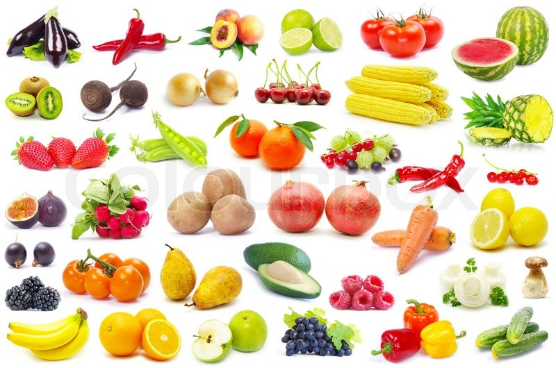 Stock image of 'Fruits and vegetable'