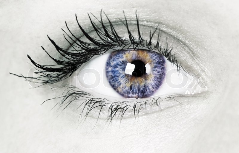 Beautiful eye, stock photo