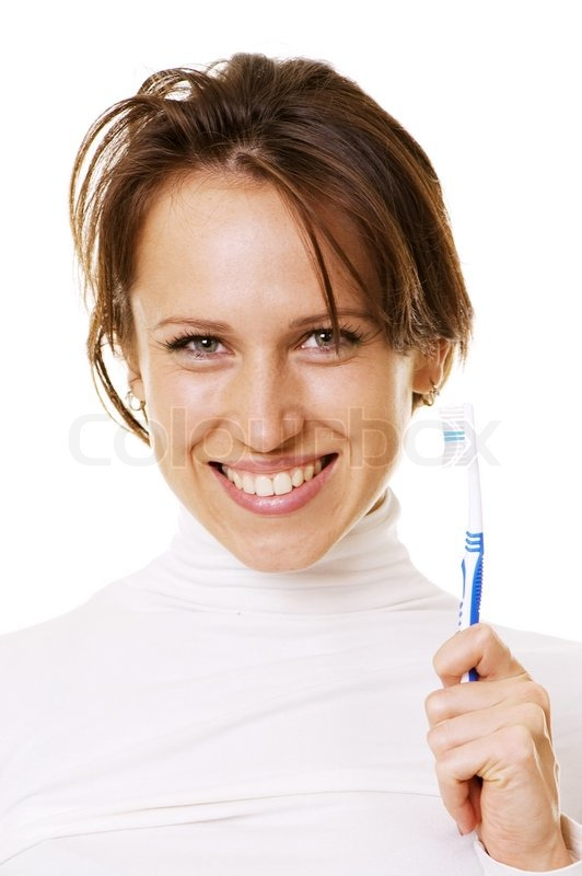 Close Up Toothpaste Smile