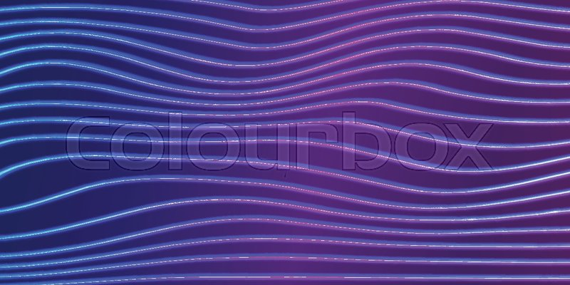 Neon Lines Background With Glowing 80s Stock Vector Colourbox