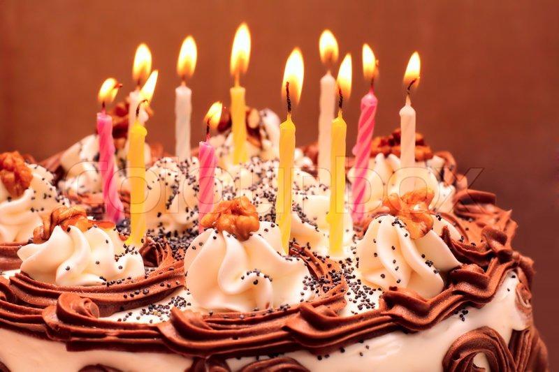 Birthday Cake Stock Photo Colourbox
