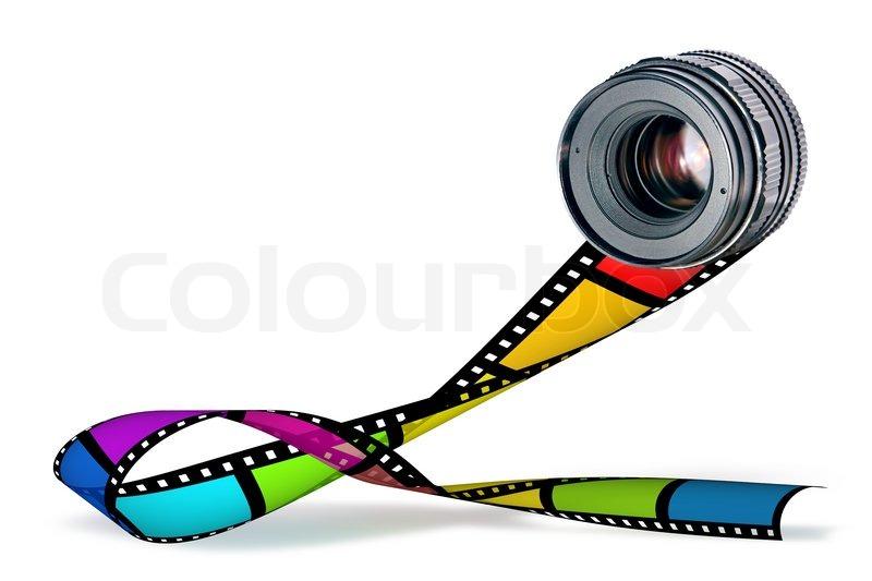Film Reel Logo Design