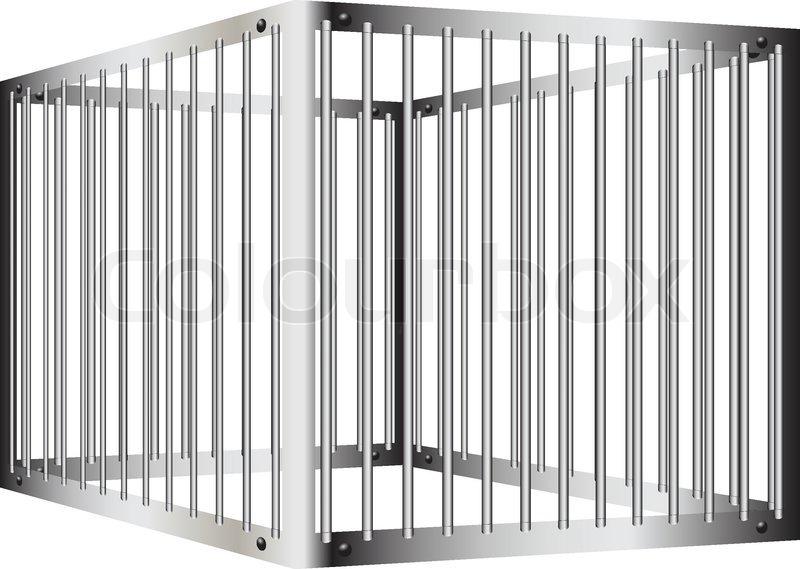 Prison bar vector colourbox