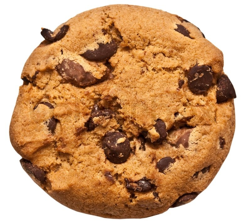 Chocolate chip cookie | Stock Photo | Colourbox