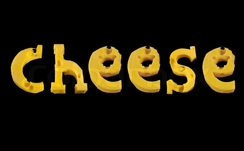 Letter Word Cheese