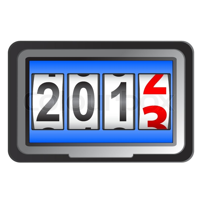 2013 on 3856151 672972 2013 New Year Counter Vector Jpg