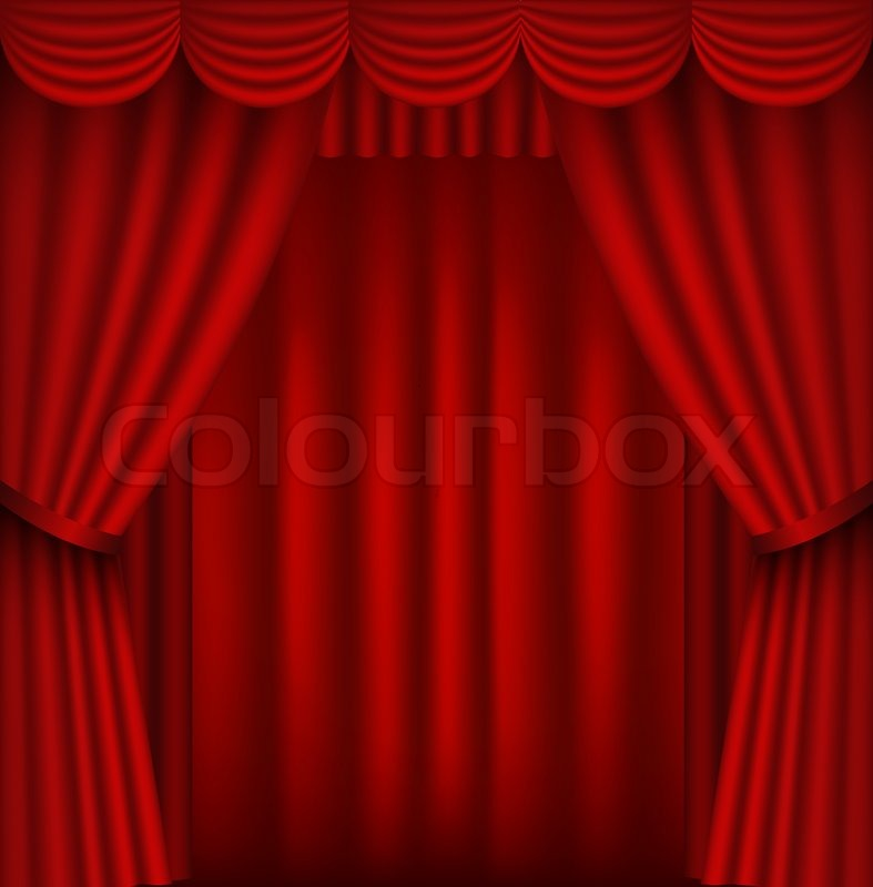 Red Stage Curtains Open Images & Pictures - Becuo