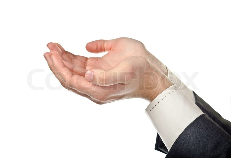 Cupped Hands Stock Photo Colourbox