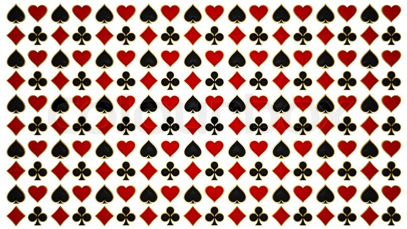 Poker Cards Hearts Card Suits And Poker Symbols
