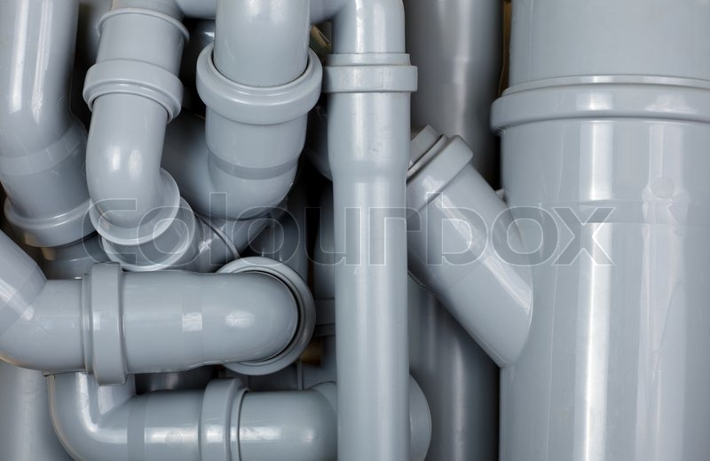 Stock image of 'Sewer pipes chaos'