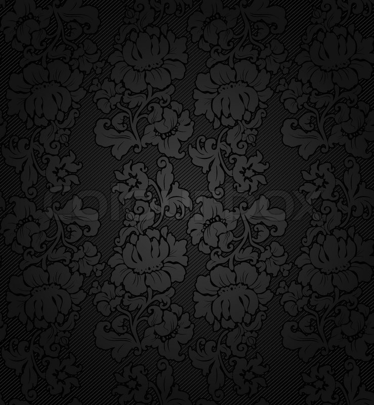 Corduroy Background Ornamental Fabric Stock Vector
