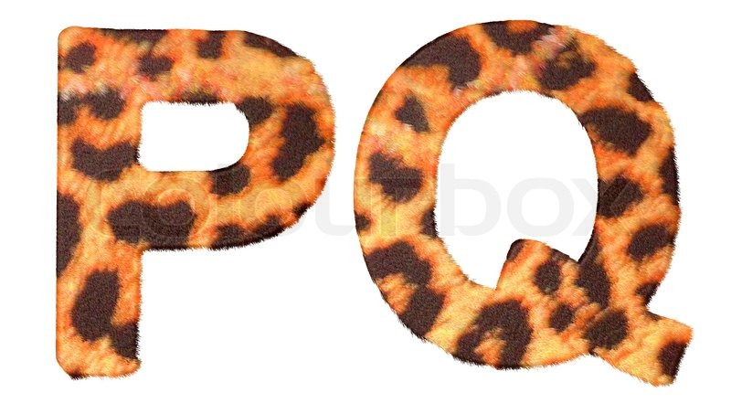 letters p q and r stock photography image 15830572 leopard fur p and q letters isolated stock photo colourbox 552