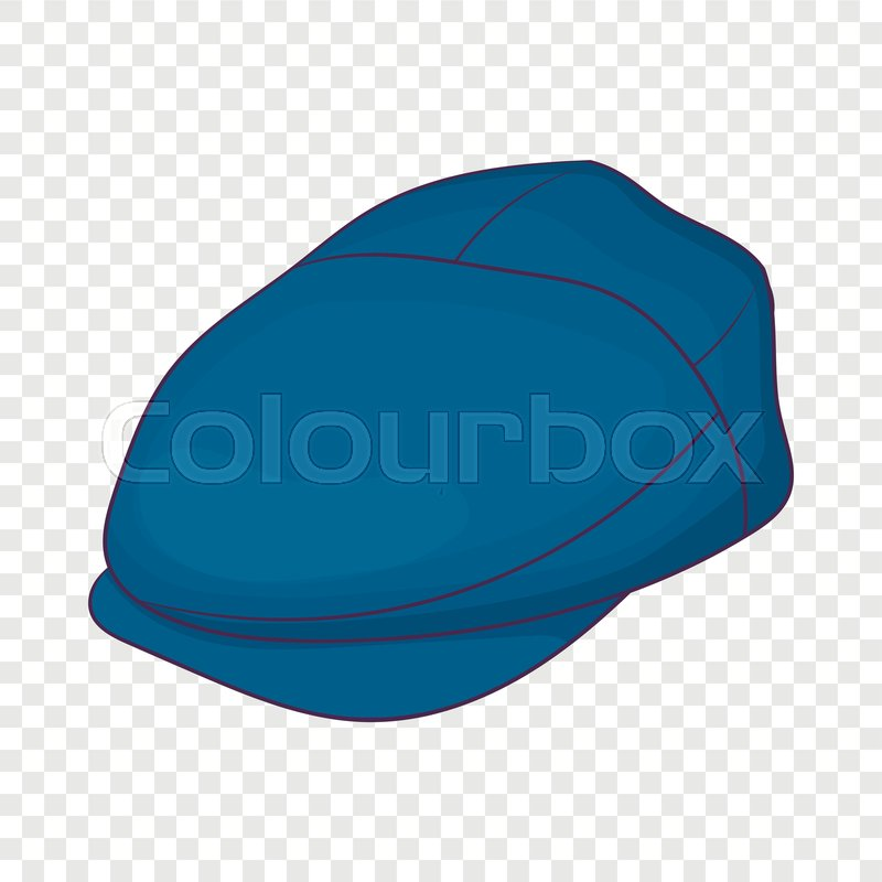 Cap Driver Icon In Cartoon Style Stock Vector Colourbox