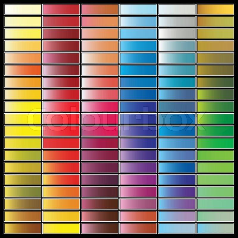 Оттенки разных цветов