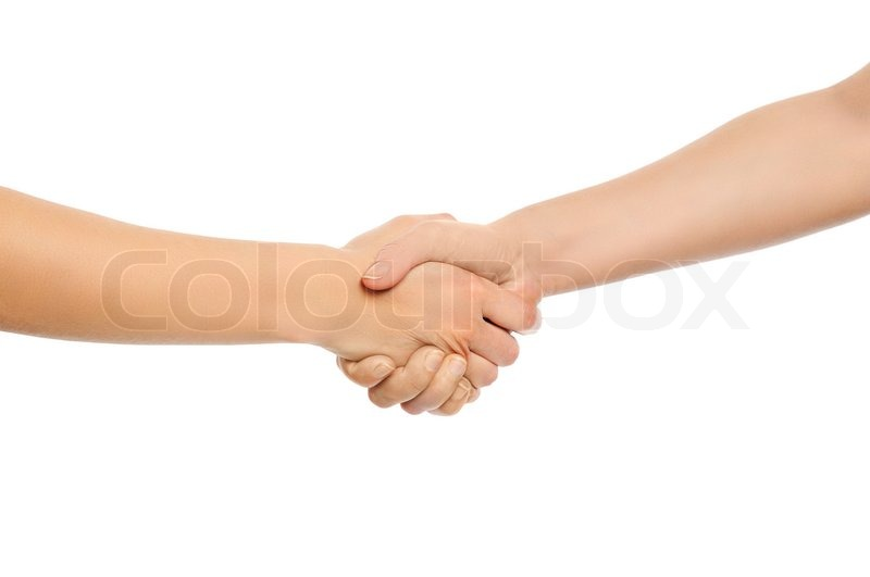 Two Shaking Hands Icon