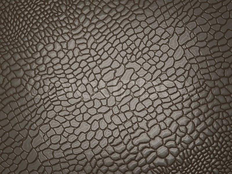 Alligator Skin Useful As Texture Or Background Stock