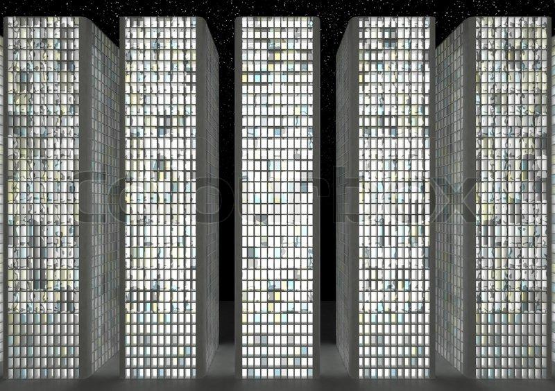 Night Building Texture...