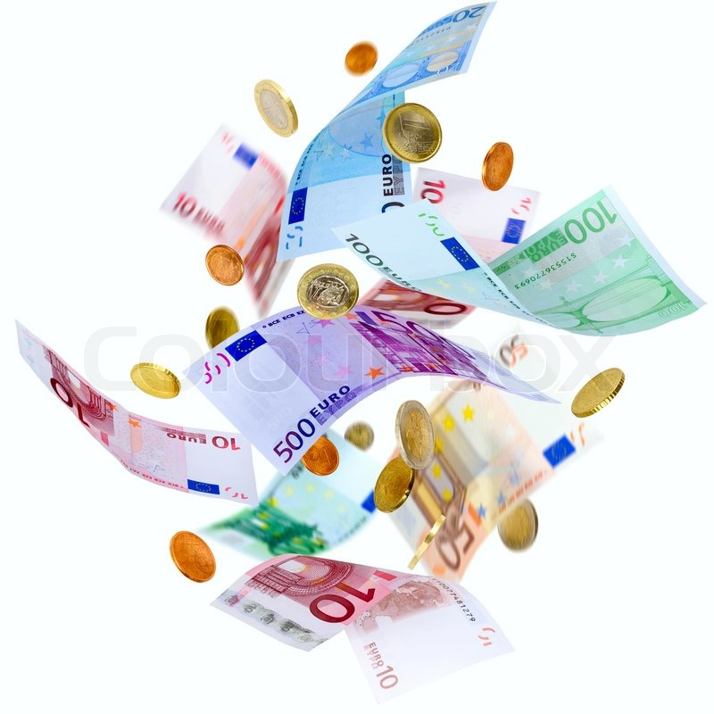 flying euro money stock photo colourbox clipart pennies free clip art pennies from heaven