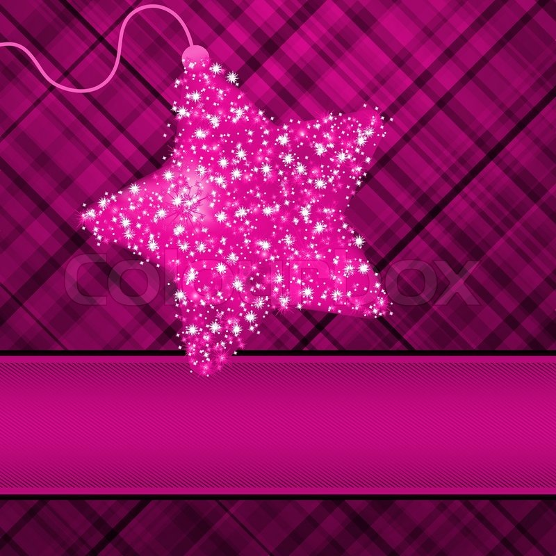 Christmas stars on purple background eps 8 stock vector colourbox christmas stars on purple background eps 8 vector altavistaventures Image collections