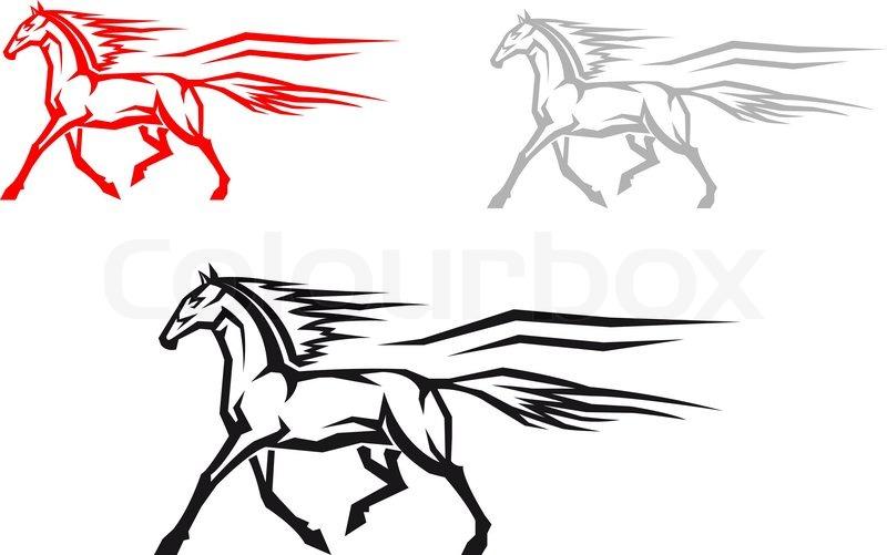 Mustang Cartoon Art Cartoon Mustang Horse Pictures