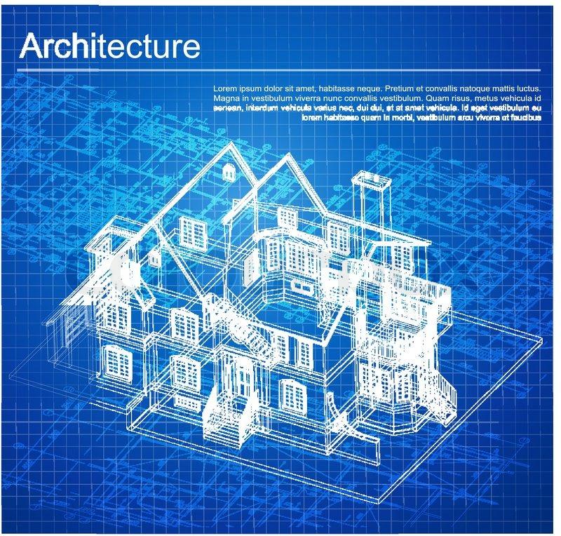 Urban blueprint vector architectural background part of stock vector of urban blueprint vector architectural background part of architectural malvernweather Gallery