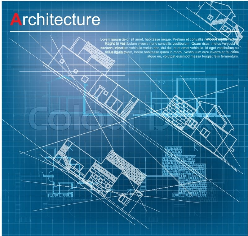 Urban blueprint vector architectural background part of urban blueprint vector architectural background part of architectural project architectural plan technical project drawing technical letters design malvernweather Image collections