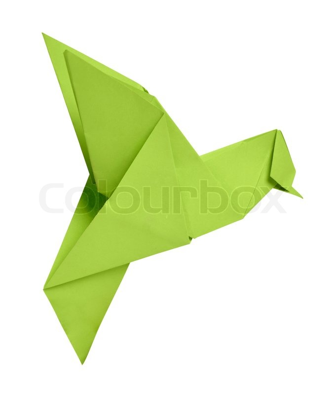 Origami Hummingbird (page 1). YouTube Animal Video Tutorials.