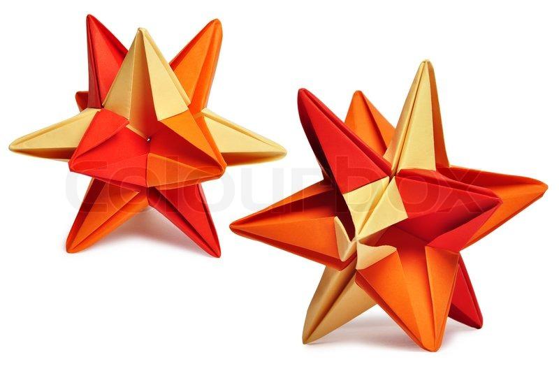 Origami Kusudama Stock Photo Colourbox
