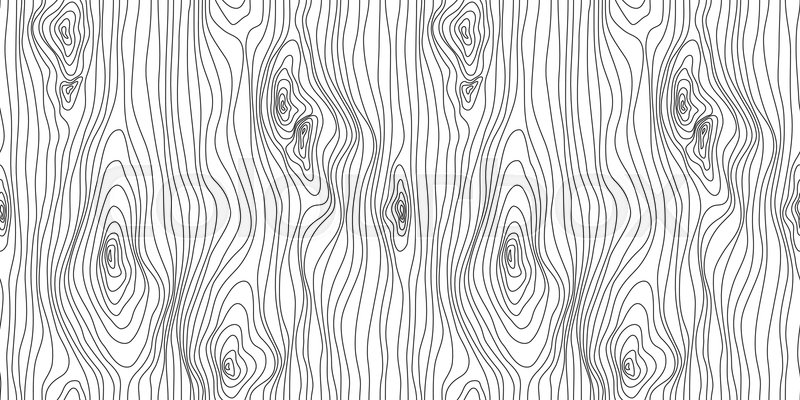 Wooden Seamless Texture Wood Grain Stock Vector Colourbox
