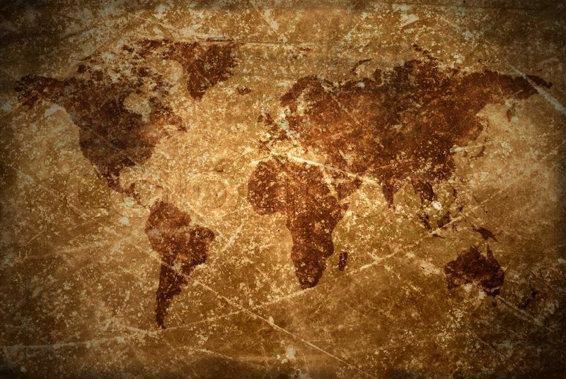 Agedvintage world map texture and background stock photo colourbox agedvintage world map texture and background stock photo gumiabroncs Image collections