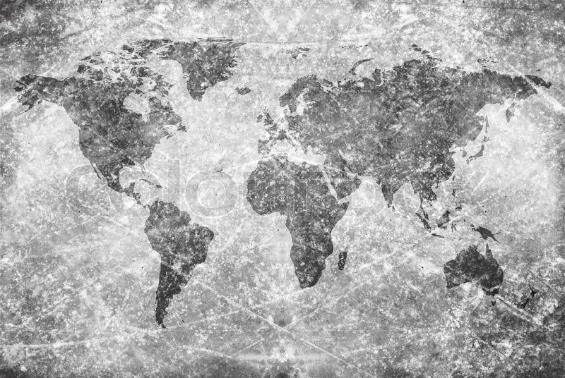 Classic vintage world map stock photo colourbox agedvintage world map texture and background gumiabroncs Images